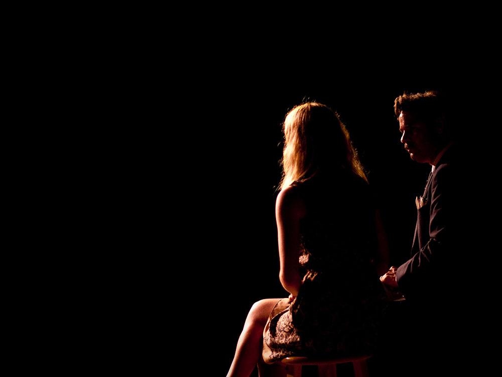 Largo   Paul F. Tompkins Show   05.21.11    Gillian Jacobs & Paul F. Tompkins.