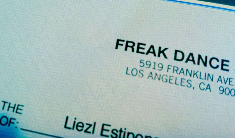 This months Travel Fund contribution courtesy of Freak Dance.