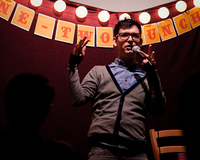One Two  Punch | 03.12.11    Last night's special guest, Moshe Kasher.