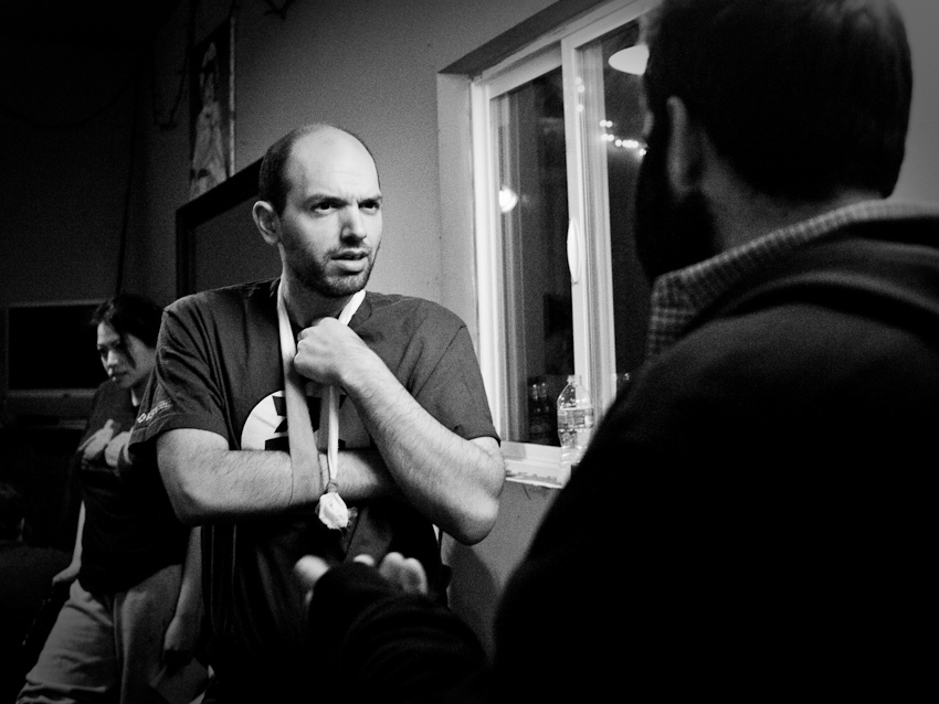UCB-LA | Onestar | 02.20.11 Mike tells Paul about his Bieber encounter.