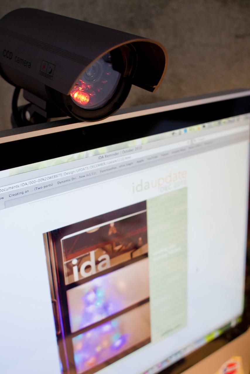 """""""Hey Liezl, we got you a new office webcam!"""" … wait a minute."""