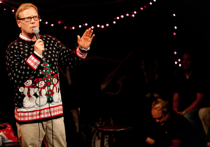 UCB-LA | Comedy Death Ray | 10.26.10    Andy Daly as Skip McCabe, recounting his Christmas adventure for the upcoming CDR Christmas album.