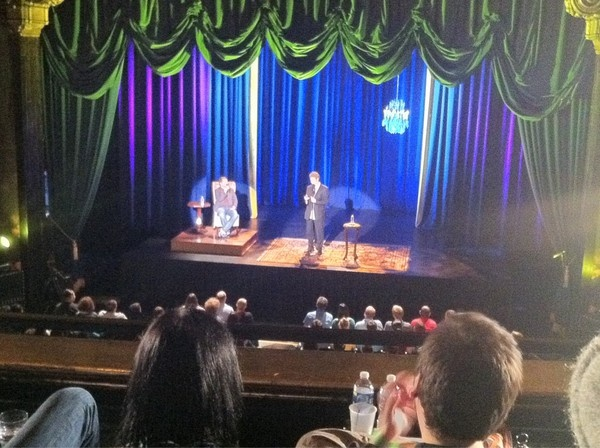 … so is anyone else going to the Benson Interruption taping at The Music Box this Monday? I'm going to be a normal for once, sans camera*.     *Only because comedy central forbids it.