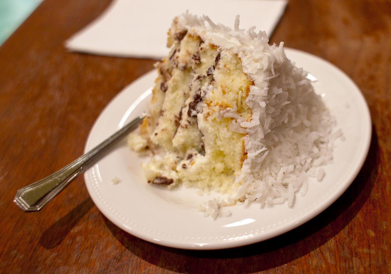 Susina Bakery…  I craved coconut, so I made it happen.