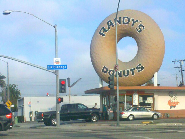 haven't slept…. but I will stop for a donut.