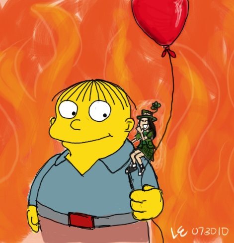 Day 8 of  This   Favorite Animated Character: Ralph Wiggum