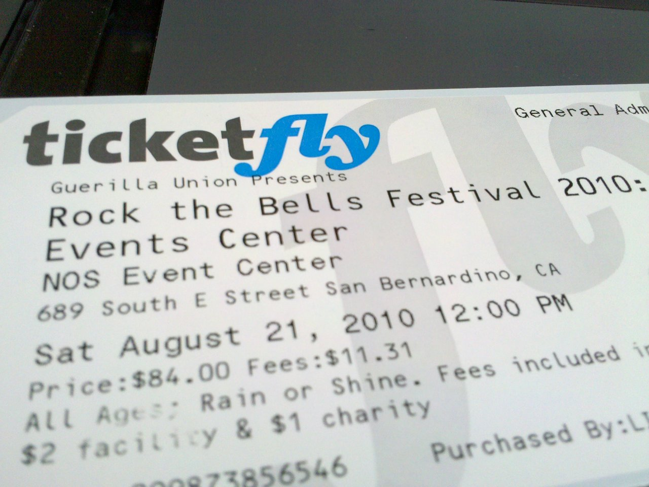 … so does anyone want to buy a rock the bells ticket? something better came up so I'm selling cheap. inquire within! CLAIMED!