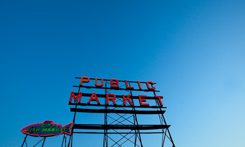 Seattle, WA | 06.26.10     obligatory market sign shot.