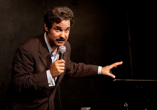 UCB-LA | Stand Up Spotlight: Paul F. Tompkins | 06.11.10      Paul F. Tompkins: The Gentleman Thief     PFT spent the show working out material for his upcoming tour. The set involves him recounting his road to becoming a comedian, from childhood to present time, and for the first time ever, I heard him repeat previous material… which is impressive considering how much I've seen him live in the past 3 years.     Anyone who's seeing him in the upcoming months is in for a good time…