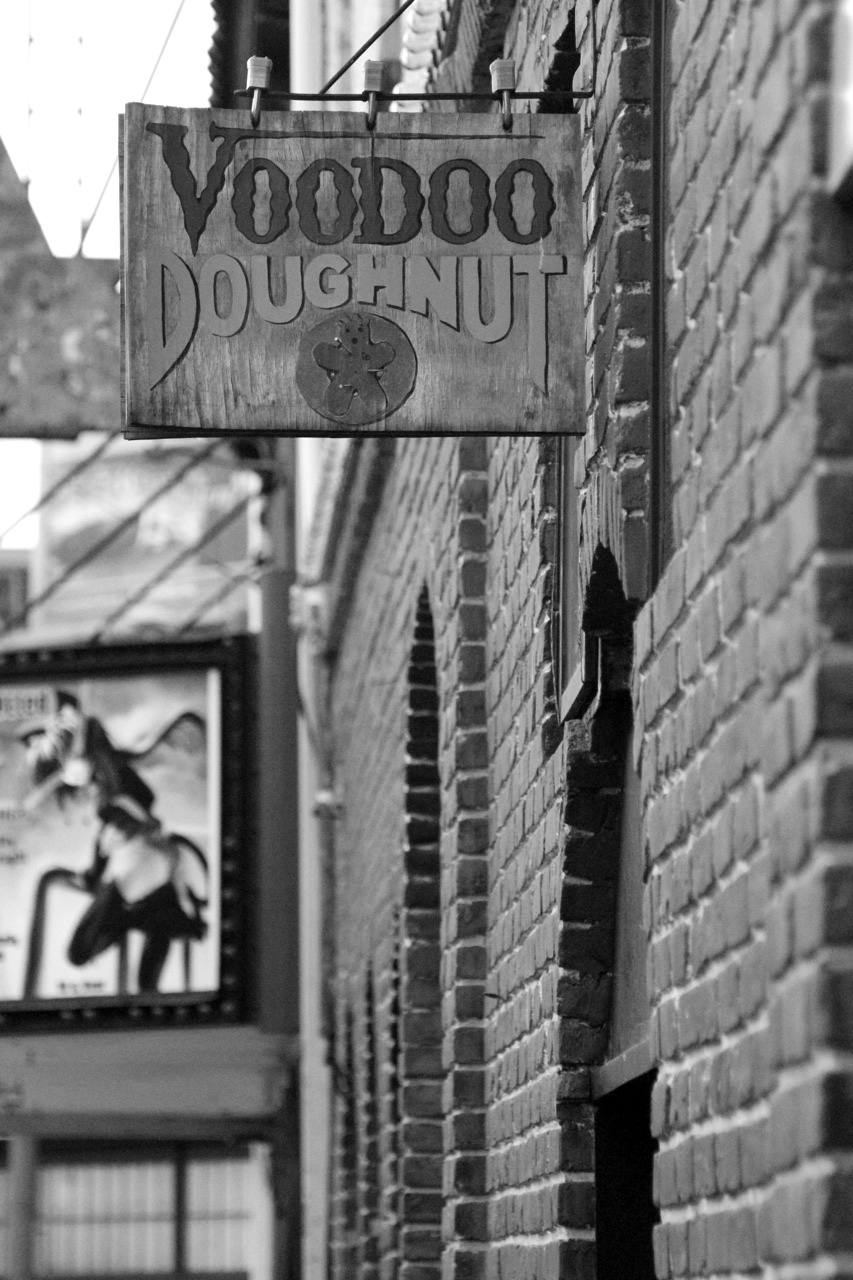 steveagee :     Voodoo - Portland OR     … Also at voodoo donuts, but more importantly, every Sunday night they show Hentai at the theater next to it.