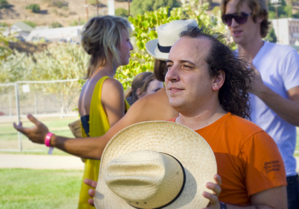 F Yeah Fest | Los Angeles, CA | 09.05.09     Har Mar Superstar hanging out backstage… while the wind blows through his glorious head of hair.    the rest of it  here .