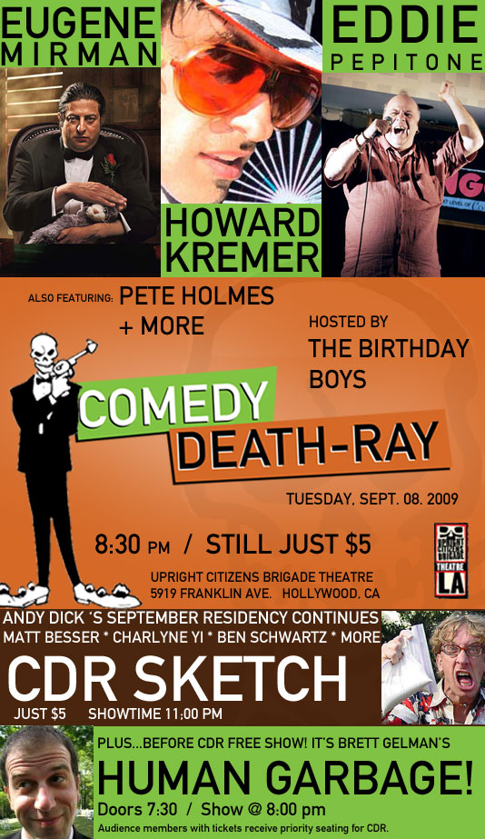 comedydeathray :    Click on the pic for tix!