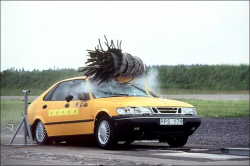 Random Fact Saab is the only car tested for a moose collision.