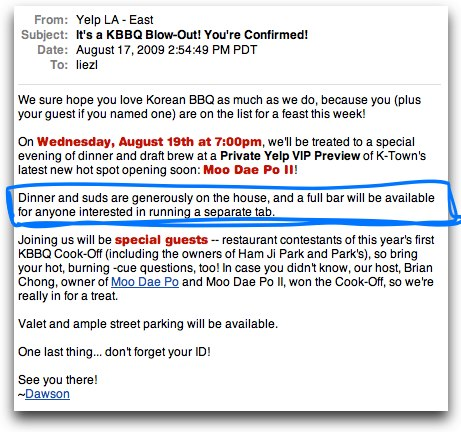 Okay forget my previous korean bbq adventure post, I just got confirmed for this! HOORAY! FREE KOREAN BBQ AND BOOZE!