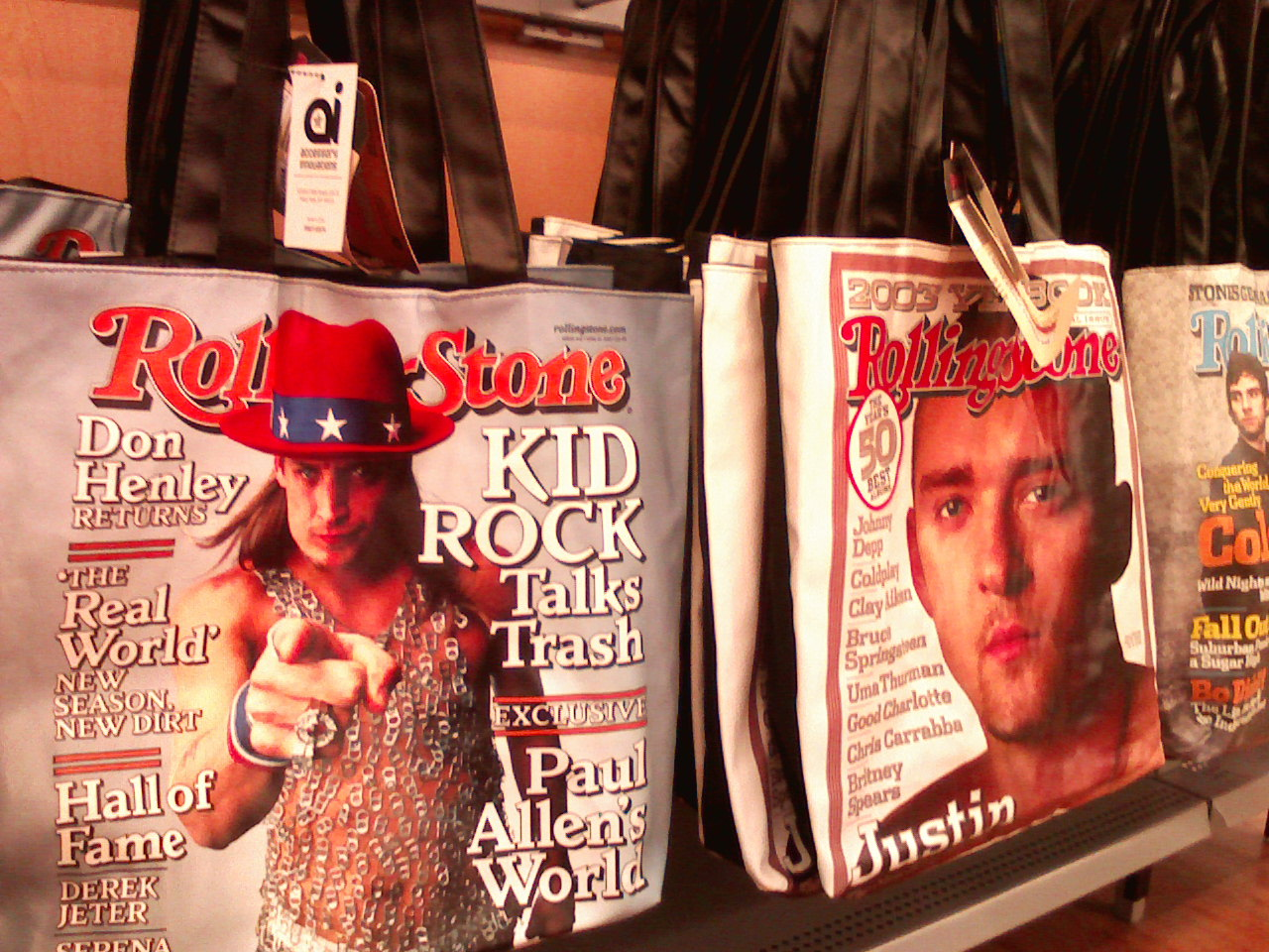 Walmart | 12:04am Kid Rock Tote Bags!