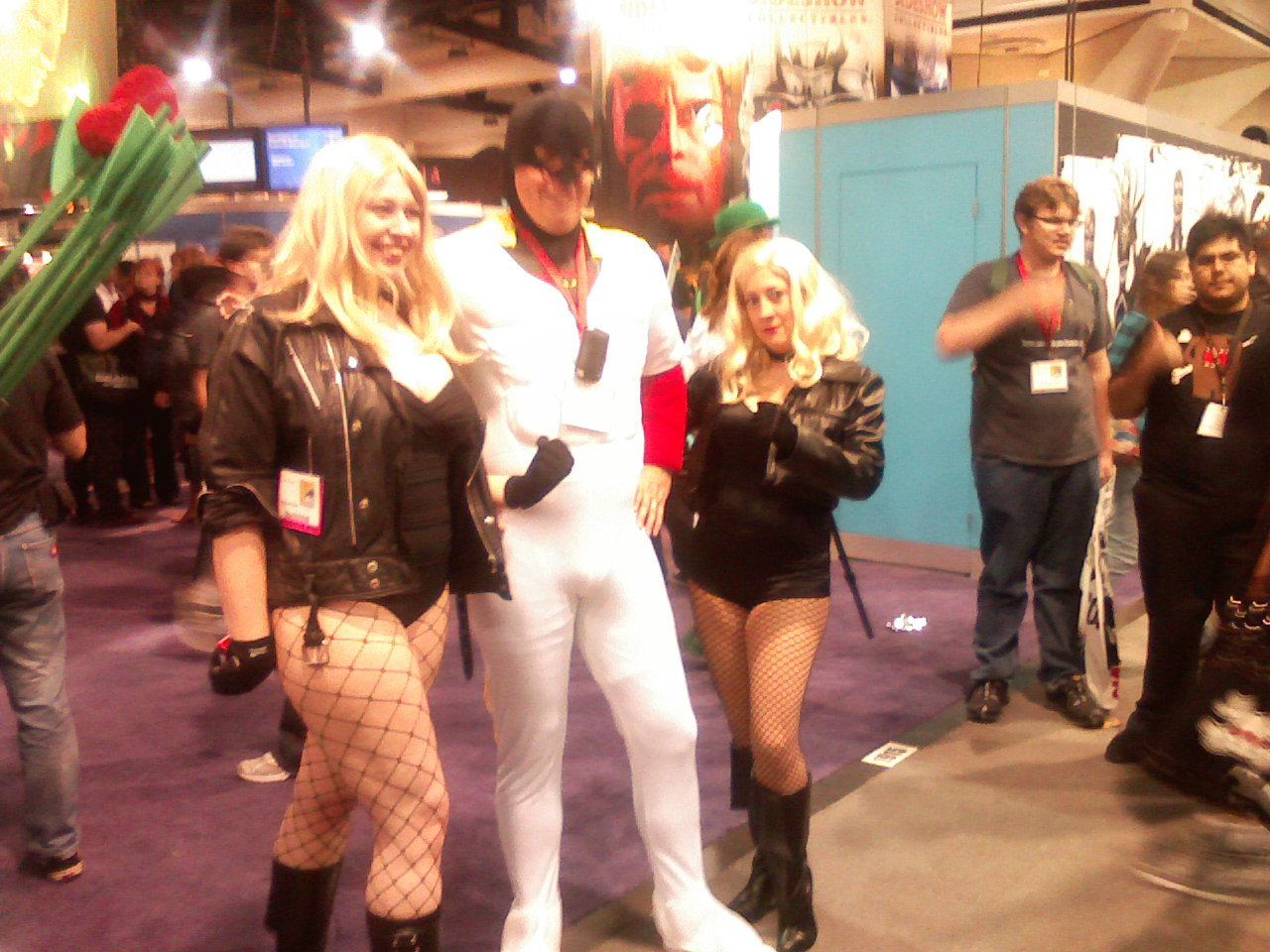 Space Ghost! Inappropriate Spandex!