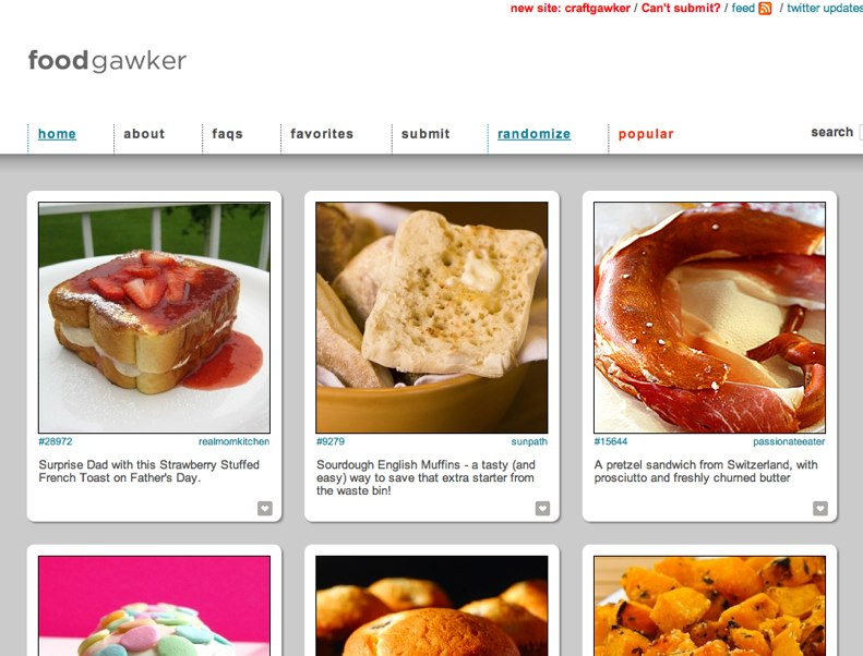 """My New Favorite Foodie Site!  I can't wait to get a crock pot, there are Korean short rib and chapchae recipes on the site!     """"It's a recipe blog aggregator organized by picture. Great because you know a person actually made the recipe, and pictures help you know what you're making."""""""