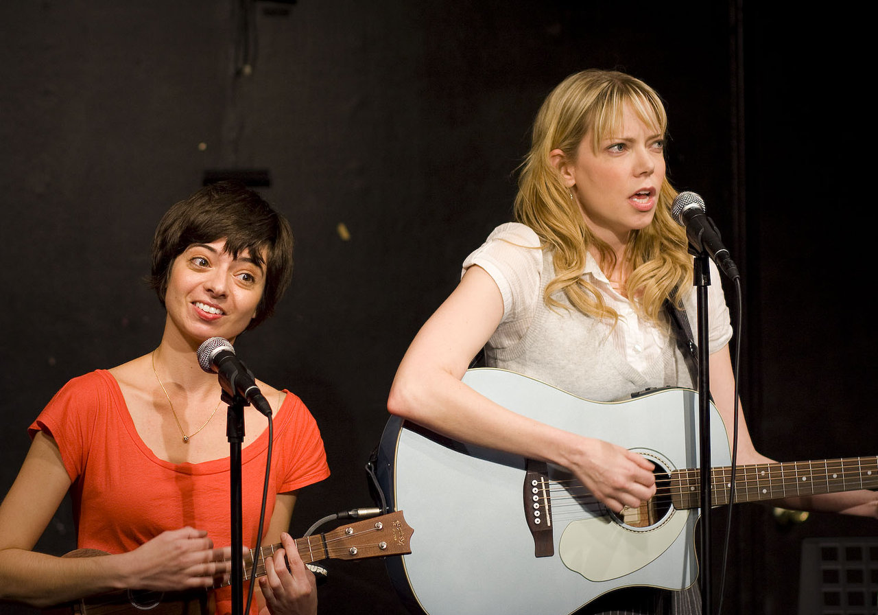 UCB-LA | Garfunkel & Oates | 05.13.09     Part of the Jon Daly double billing last night at UCB.  They were absolutely the cutest duo ever, songs with clever catchy lyrics… like a female Flight of the Conchords.     See them if you get the chance, maybe they'll do a reprise of their new song, Sex with Ducks.     They'll be performing with Jon Daly again in two weeks. Definitely worth the $5 admission.