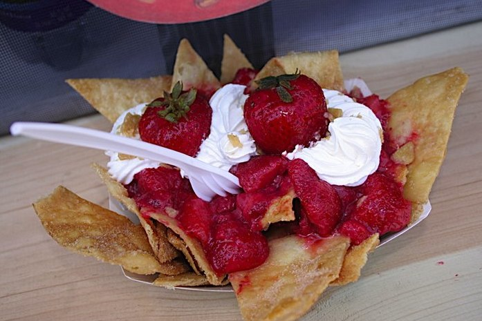 Strawberry Festival | Oxnard, CA The Strawberry Festival is next weekend and #1 on my agenda will be finding and eating Strawberry Nachos.