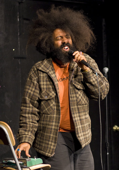 UCB-LA | Comedy Death Ray | 04.28.09     Reggie Watts is amazing…  I'm bummed I'm missing his sold out show at UCB in lieu of printing/cutting out wedding inserts. Ah responsibility.