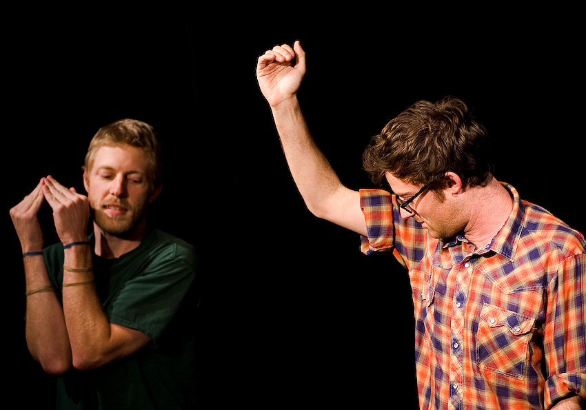 UCB-LA | Convoy | 01.08.09 Alex Berg and Todd Fasen and at the penis prom.