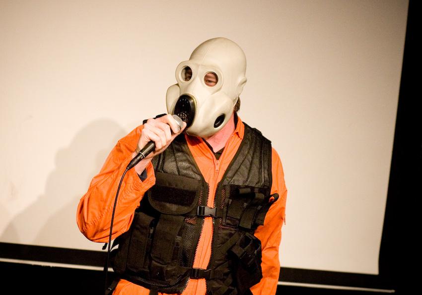 UCB-LA | CDR Sketch Show | 01.06.08 Rob Huebel as J.J. Abrams as an apocalyptic slavery comedian?