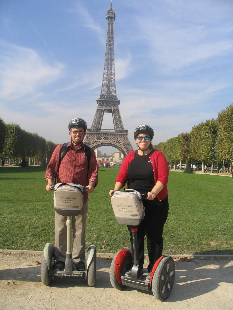 I'm currently in the process of booking hotels and things to do while I'm in Paris/London next month.    Grace suggested doing a  segway tour  while in Paris.      Those who know me know I'm never above being a complete geek, but do I really want to be this person while in Paris?