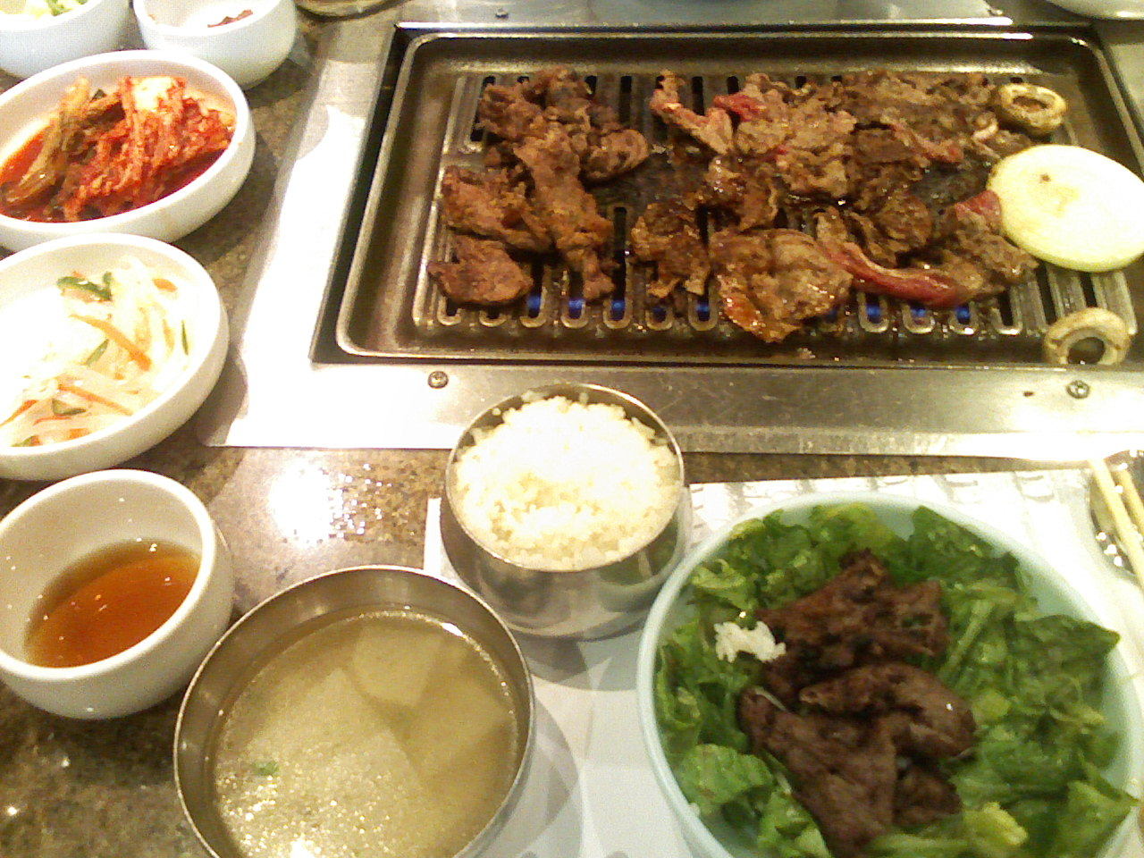 Korean BBQ Saturdays