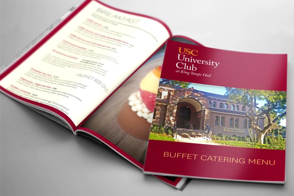 USC University Club Catering Menu
