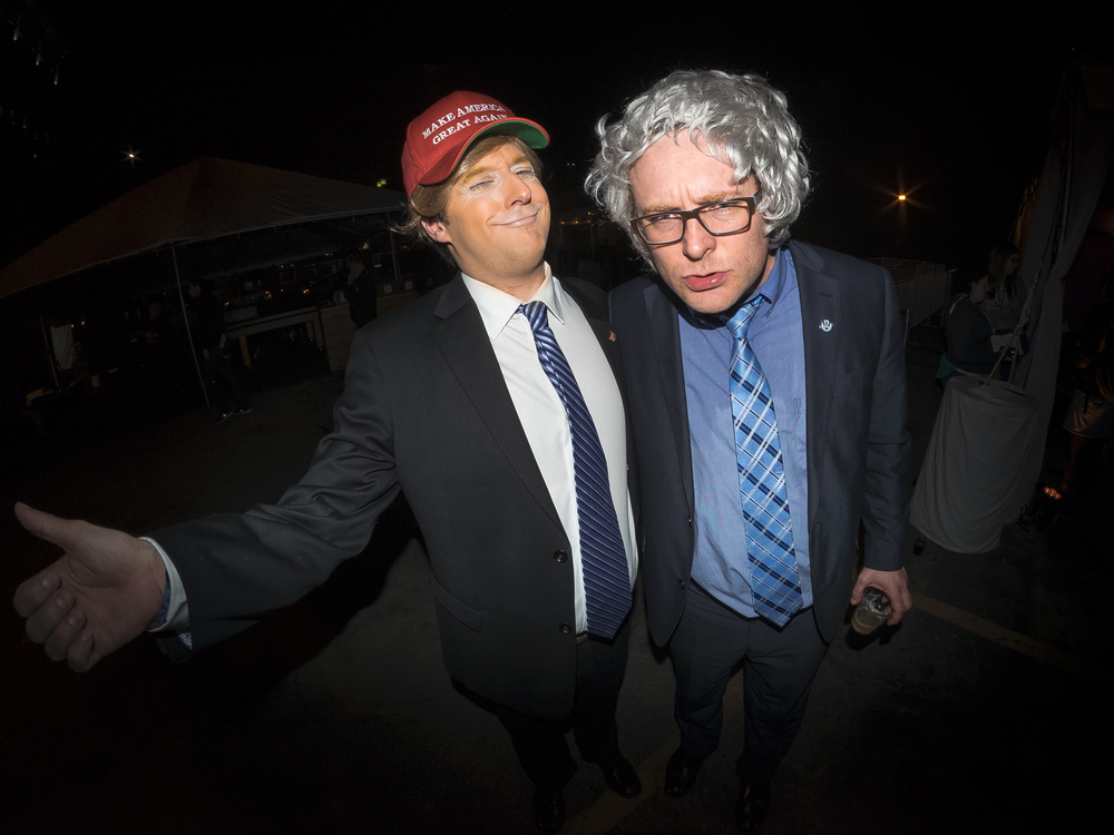 Trump vs Bernie at Riot LA Comedy Festival