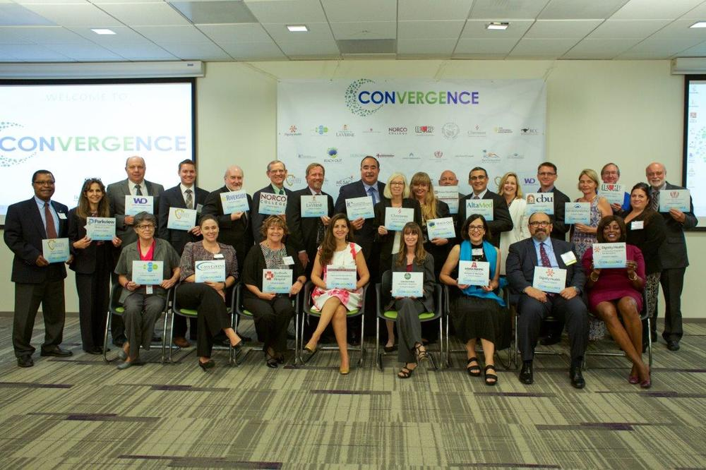More than 30 hospitals and higher ed institution have committed to the mission and goals of the Convergence group.