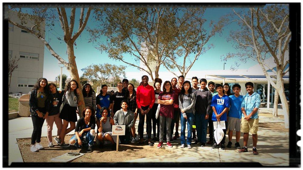 Roosevelt High School students.