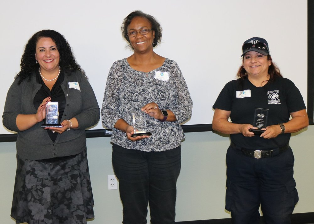 We honor you! - Rosalind Barba, Melissa Hughes, Lisa Comnick, and Angela Quinlan (pictured below).