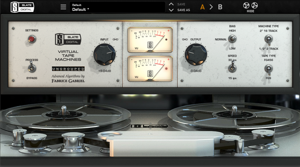Virtual Tape Machine (VTM), de Slate Digital