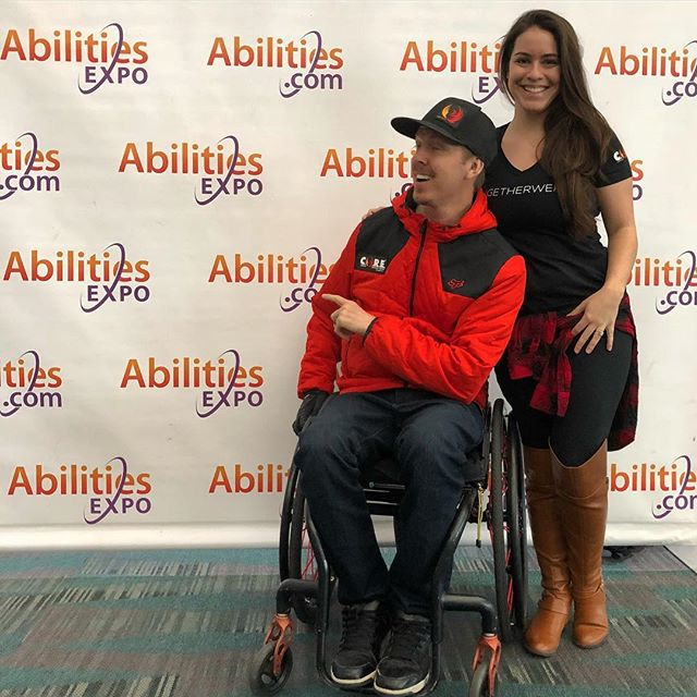 If you're in the Los Angeles area be sure to check out the FREE Abilities Expo at the LA Convention Center Feb 22-24. #abilitiesexpo2019