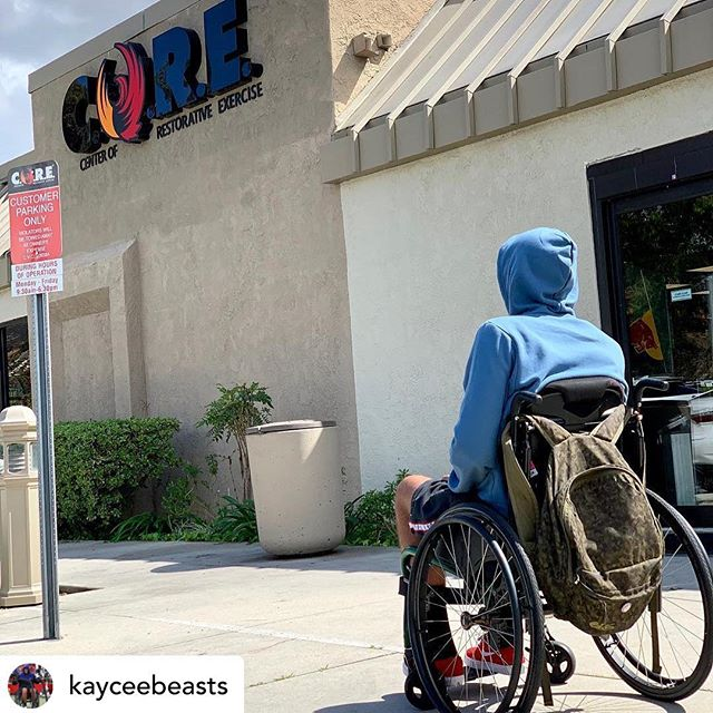 "🙏🏼 #repost @kayceebeasts You can't do it alone. Recovery and spinal cord injury are far from synonymous. The first thing they tell you is ""never"" you'll ""never be able to walk"", you'll ""never be able to eat by yourself"", you'll ""never be able."" Sadly that becomes reality for a lot of people who suffer a spinal cord injury. Then there's us few. Those who don't take no for an answer, those who fight, and those who believe in will power. C.O.R.E is more than a gym. This place gives hope to the hopeless this place gives life to the lifeless. #spinalcordinjury #spinalcordinjuryrecovery #walkagain #wheelchair #watchme #restorativeexercise #mindfulmovement"