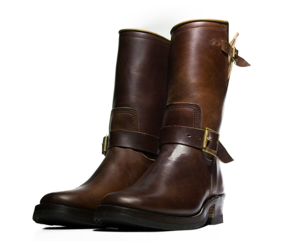 Brown CXL Horsehide Engineer Boots Limited  (click for more info)