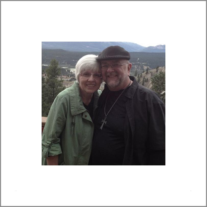 Bob with his wife, Karen