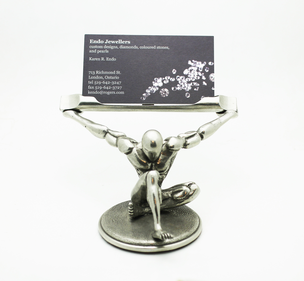 Jac Zagoory Business Card Holder