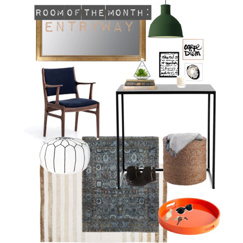 Studio 1049- Room of the Month // Entryway
