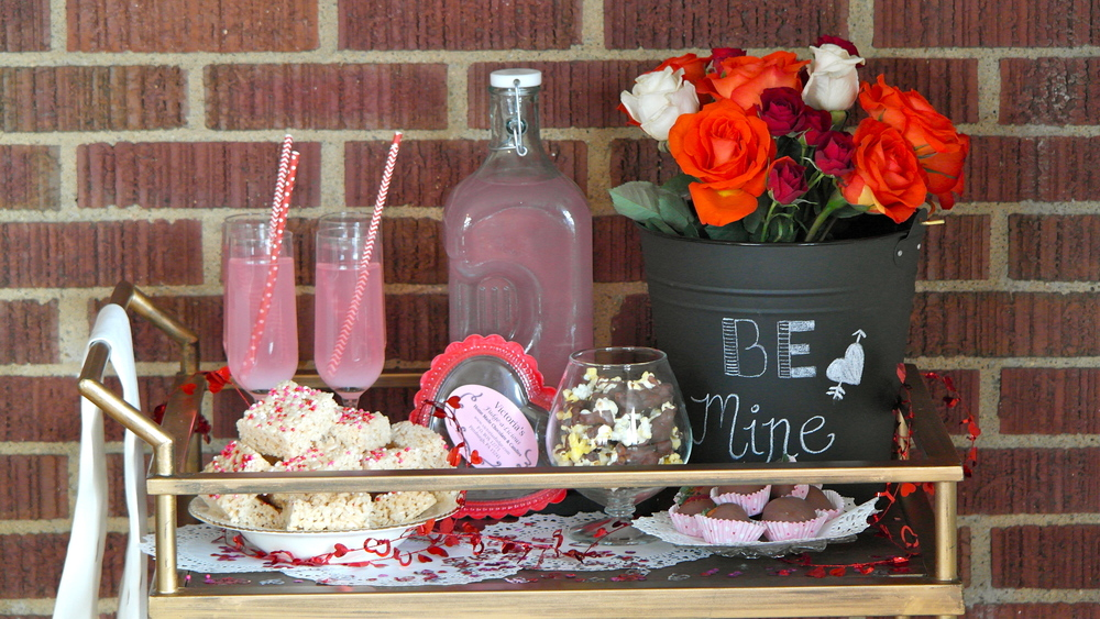 Dessert Bar Cart Styling