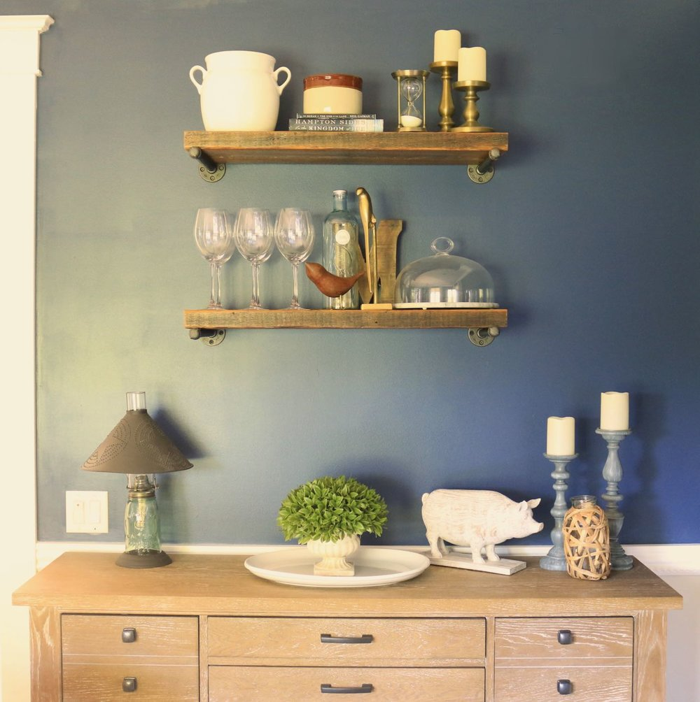 Farmhouse Shelves