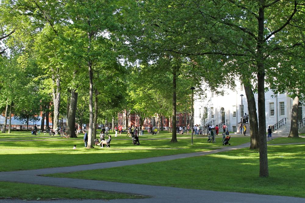 Harvard Yard, Cambridge