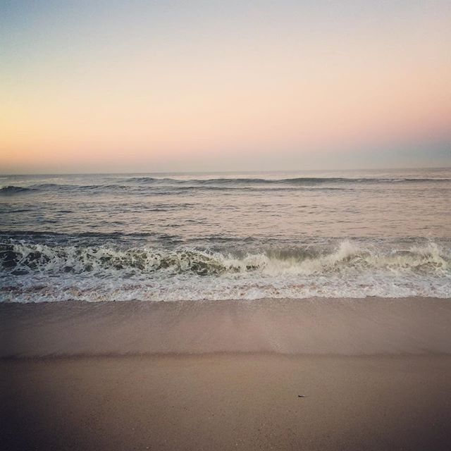 Good morning #startthedayright #beach #sunrise #earlybird #calm #atlanticocean #portugal