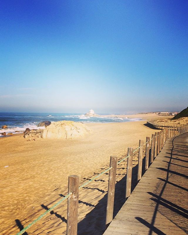 Farewell beach walk #porto #portugal #beach #seaside #blue #sandinmyshoes #whydontilivehere