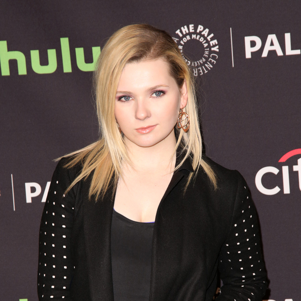 Abigail Breslin wears our Orbis - Bold Earrings in 14K Plated Rose Gold to the 33rd Annual PaleyFest. Styled by Molly Levin.