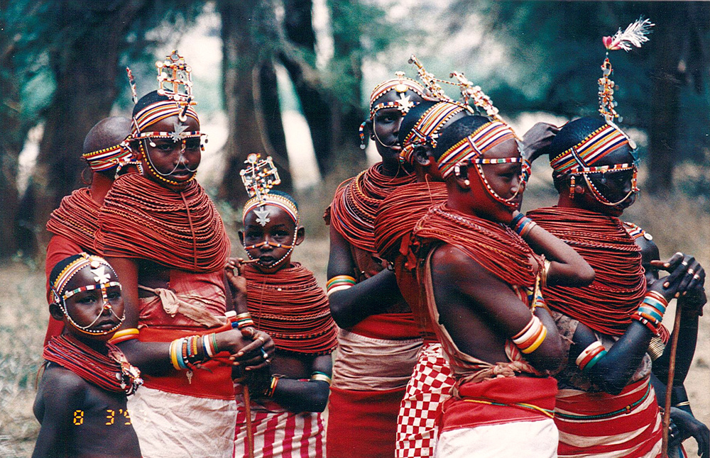 Samburu Villagers.