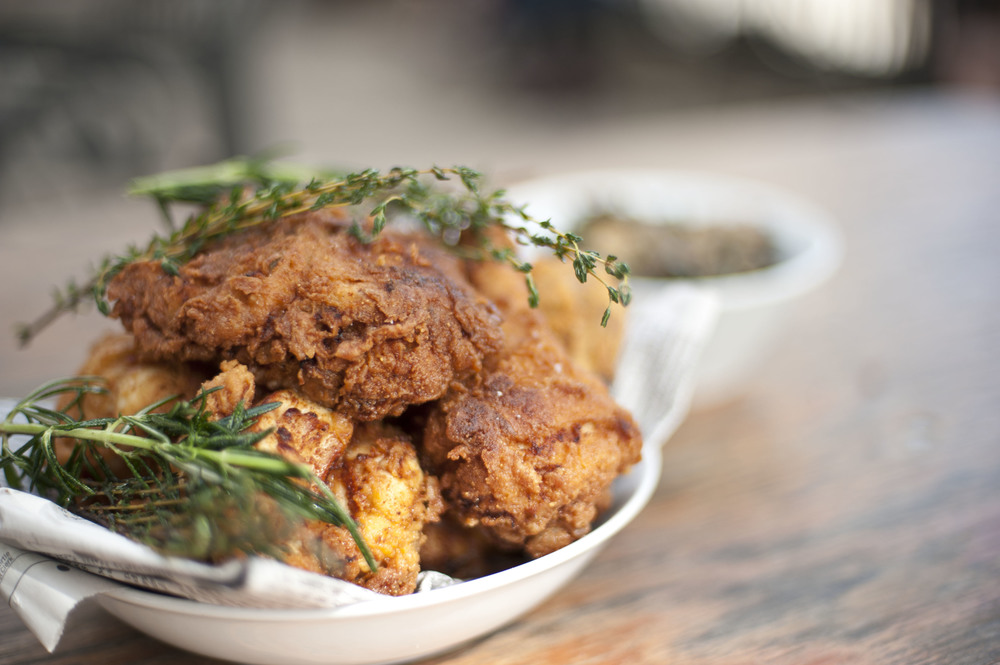 Cafemantic's Buttermilk Fried Chicken Recipe from The Connecticut Farm Table Cookbook || CTEatsOut.com
