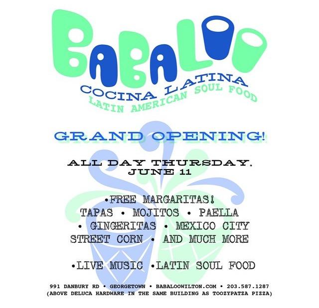 Babaloo Cocina Latina Grand Opening