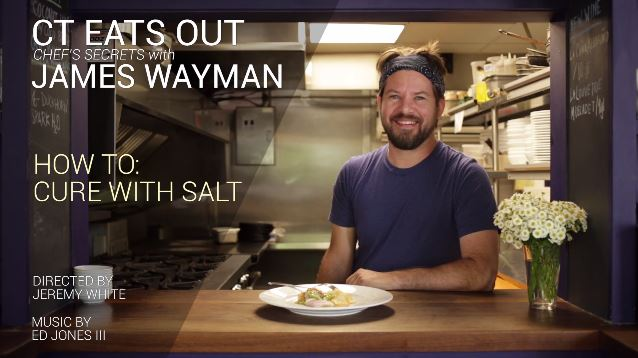 Chef Secrets: How To Cure with Salt with Chef James Wayman